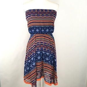 Anthropologie Maeve Women's Dress Handkerchief Hem